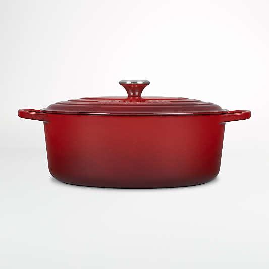 Le Creuset ® Cerise Signature 8-Qt. Oval Dutch Oven