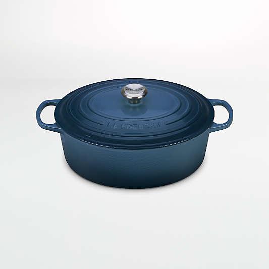 Le Creuset ® Deep Teal Signature 8-Qt. Oval Dutch Oven