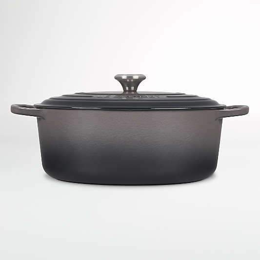 Le Creuset ® Oyster Signature 8-Qt. Oval Dutch Oven