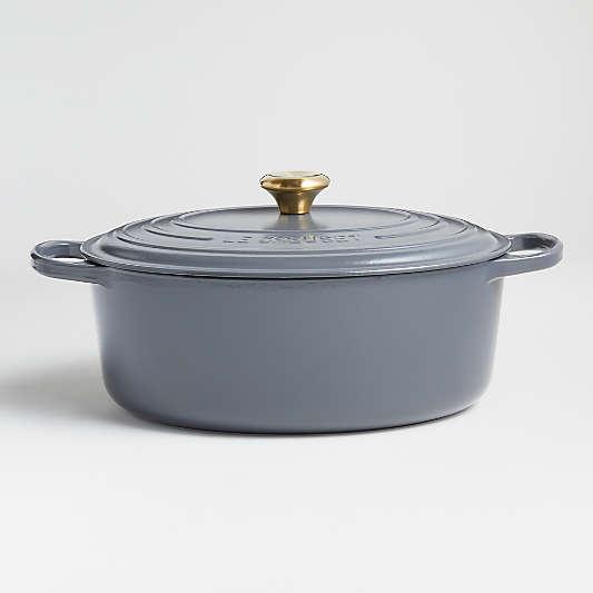 Le Creuset ® Graphite Signature 8-Qt. Oval Dutch Oven