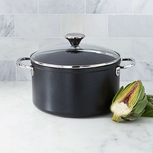 Le Creuset ® Toughened Non-stick 6-Qt. Stockpot with Glass Lid
