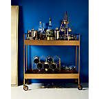 View 11-Bottle Gold Wine Rack - image 2 of 8