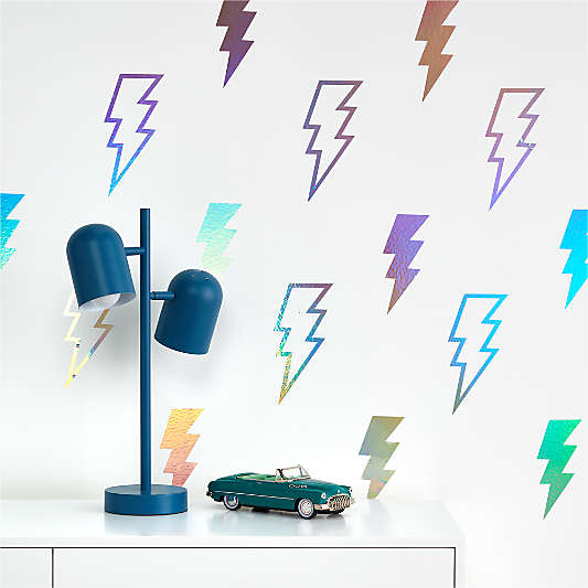 Tempaper Lightning Bolts Removable Wall Decals