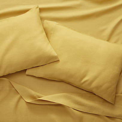Pure Linen Amber Sheet Sets Crate And, Pure Linen Bedding Canada