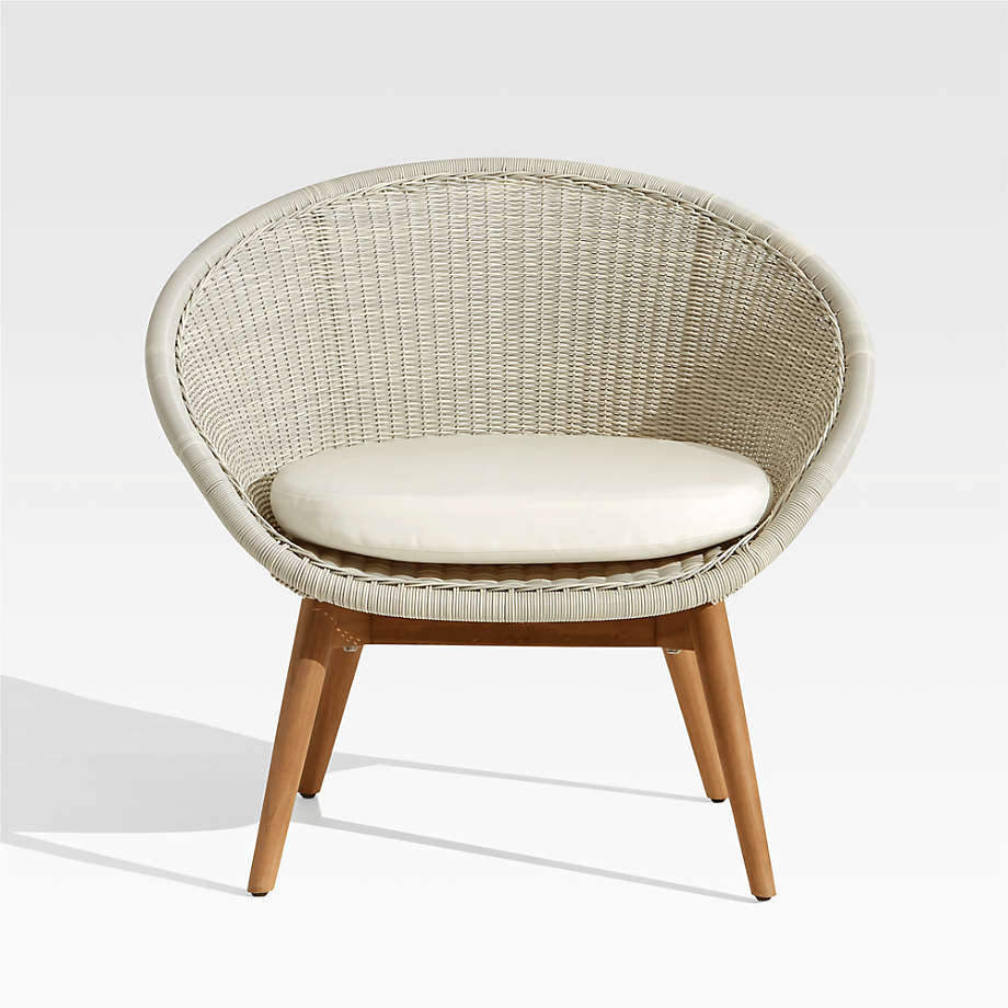 Loon Grey Outdoor Lounge Chair (Open Larger View)
