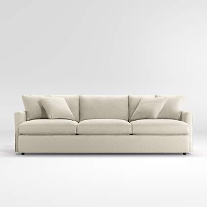 Lounge Deep 3 Seat Grande Sofa 105, Crate And Barrel Lounge Sofa Reviews