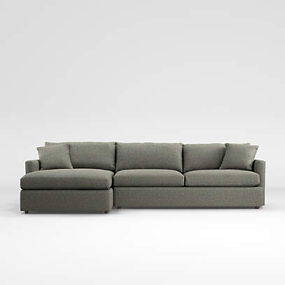 Lounge 2 Piece Sectional Sofa Reviews, Crate And Barrel Lounge Sofa Reviews