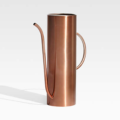 Lyra Copper Watering Can Reviews Crate And Barrel