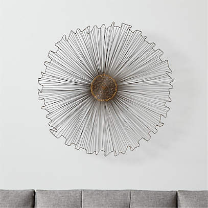 Marisol Wall Art Reviews Crate And, Round Wall Decor Canada