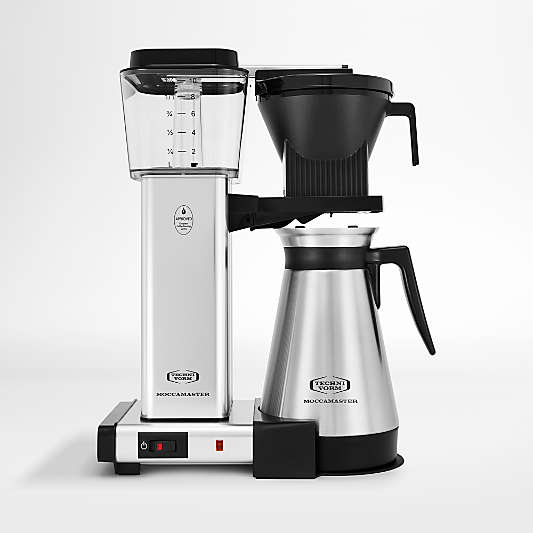 Moccamaster KBGT Thermal Brewer 10-Cup Polished Silver Coffee Maker