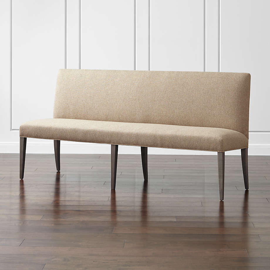 """Miles 75"""" Upholstered Grand Dining Banquette Bench (Open Larger View)"""