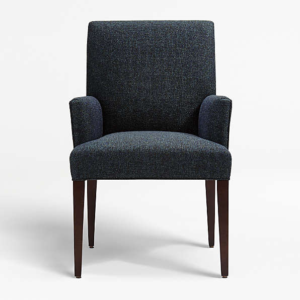 Upholstered Dining Chairs Crate And Barrel