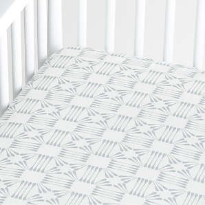 Arrow Crib Sheet 100/% Natural Cotton Flannel Arrow Fitted Toddler Bed Sheet