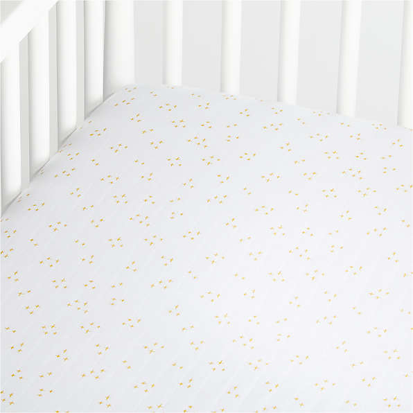 Crib Fitted Sheets Ships Free Crate, Plain White Baby Bedding