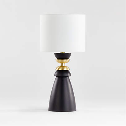 Olsted Wood And Metal Table Lamp, Metal Table Lamps