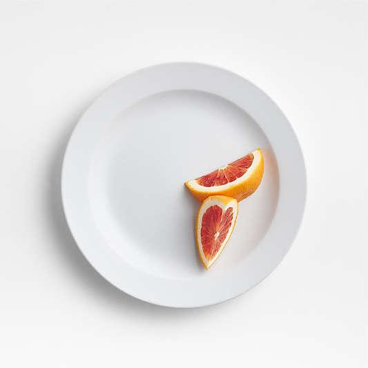 Paige White Salad Plate