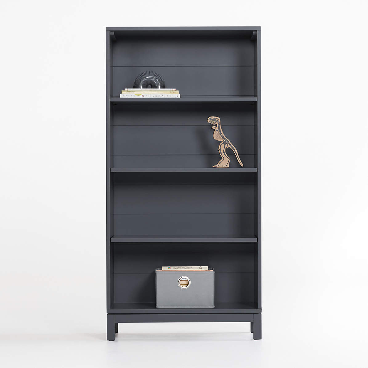 Parke Charcoal Bookcase Crate And Barrel