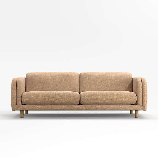"Pershing Curved-Arm 90"" Sofa"