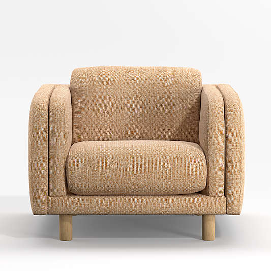 Pershing Curved Arm Chair
