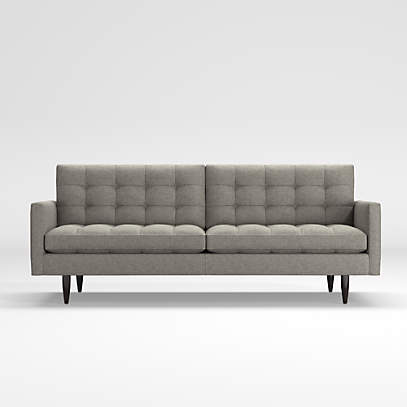 Petrie Mid Century Sofa Reviews, Crate Barrel Sofa