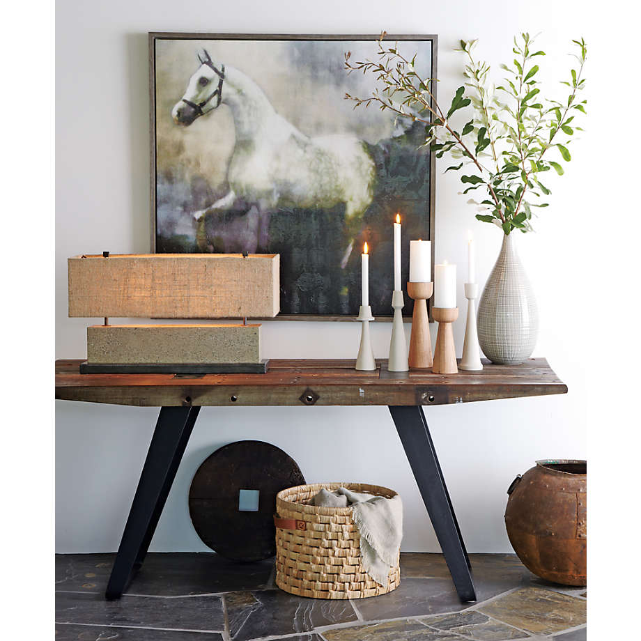"""Phoenix Rustic Work Table 72"""" (Open Larger View)"""
