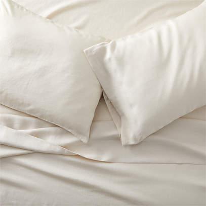 Pure Linen Natural Queen Sheet Set, Pure Linen Bedding Canada