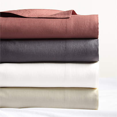 Pure Linen Sheet Sets Crate And, Pure Linen Bedding Canada
