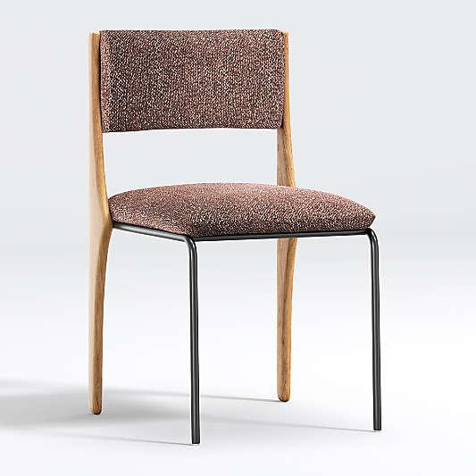 Raaf Burgundy Side Chair