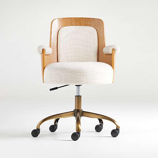 Roan Wood Office Chair