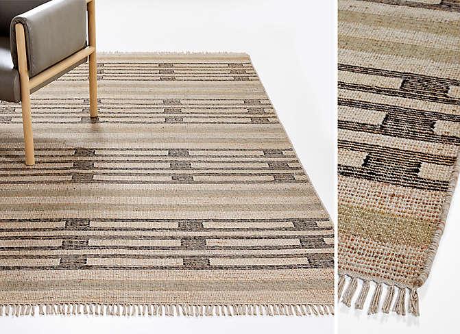 Robalio Jute Flat Weave Rug