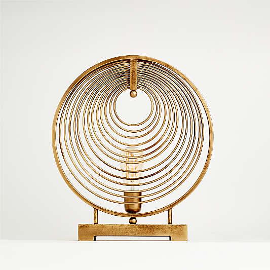 Rowan Circle Table Lamp