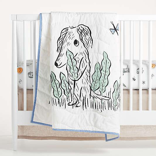 Roxy Marj Puppy Crib Quilt