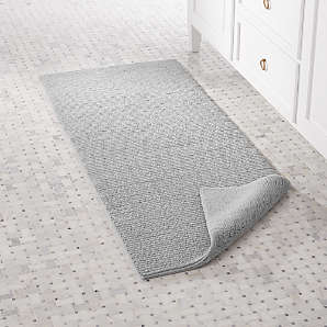 Luxury Bath Rugs Crate And Barrel