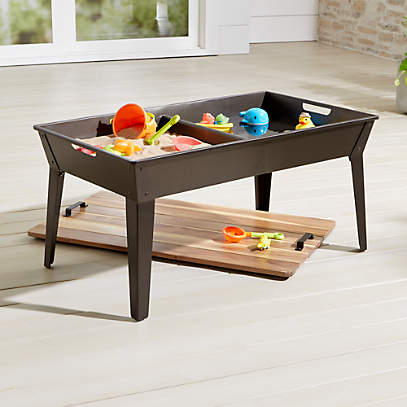 Kids Outdoor Play Tables Crate, Outdoor Kids Table
