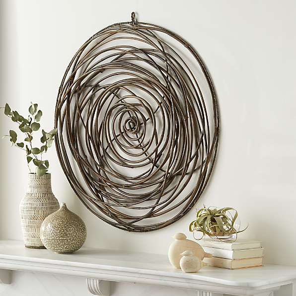 Round Wall Decor Crate And Barrel, Round Wall Decor Ideas