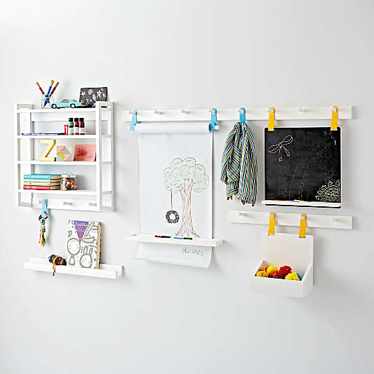 Beaumont White Shelving Collection