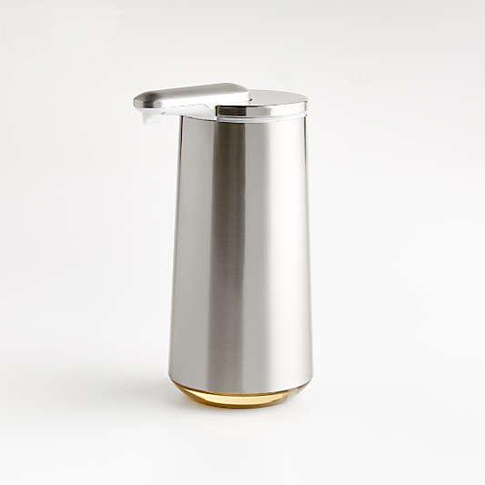 simplehuman ® Brushed Stainless Steel Foam Sensor Soap Pump