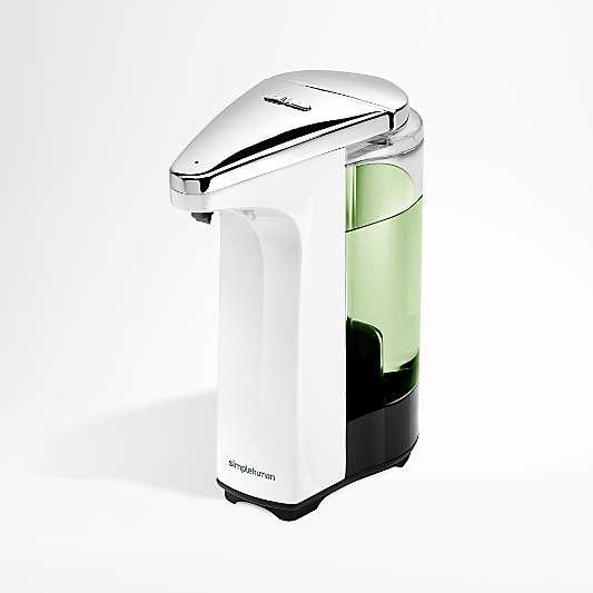 simplehuman ® White Compact Sensor Soap Dispenser