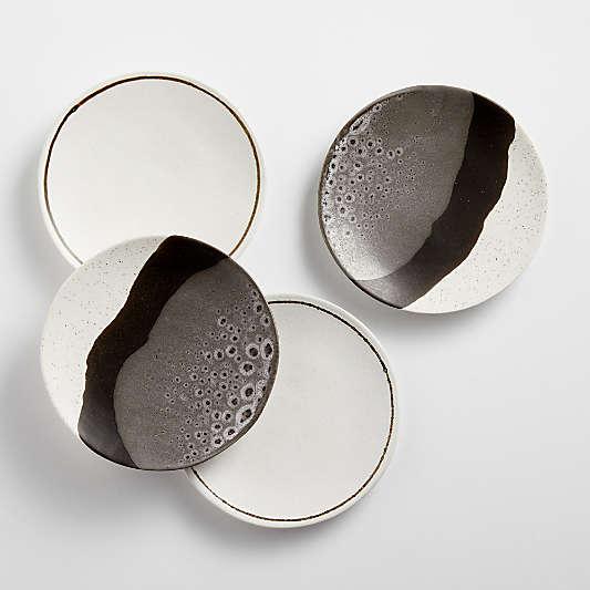Stella Appetizer Plates, Set of 4