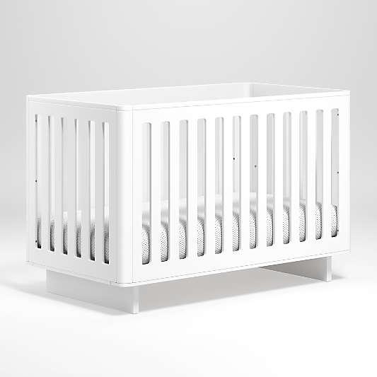 Sycamore White Baby Crib