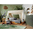 View Kids Hampshire 6-Drawer Olive Green Dresser - image 4 of 10