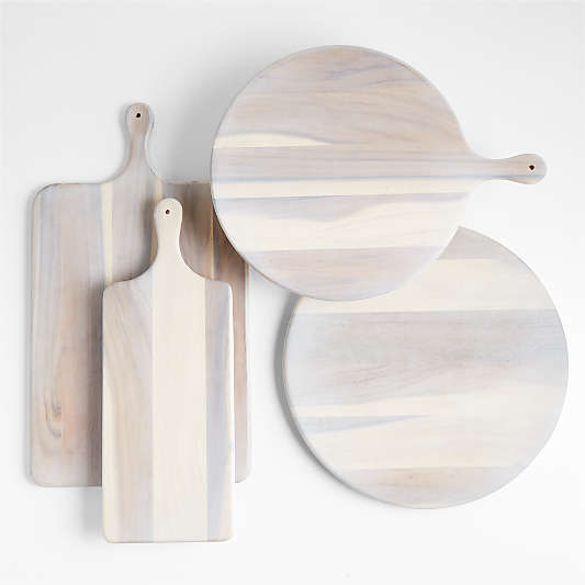 Tondo White-Washed Serveware