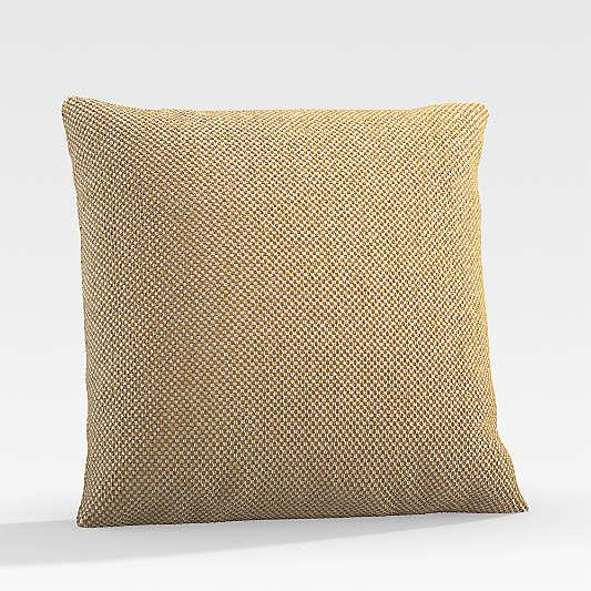 """Trixie 20"""" Ocher Outdoor Pillow"""