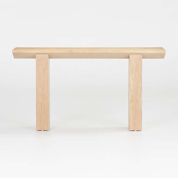 Sofa And Console Tables Crate Barrel - What Is A Tall Console Table Called