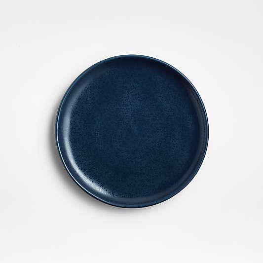 Visto Navy Stoneware Appetizer Plate