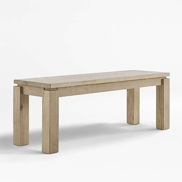 Dining Benches Kitchen Table Benches Crate And Barrel