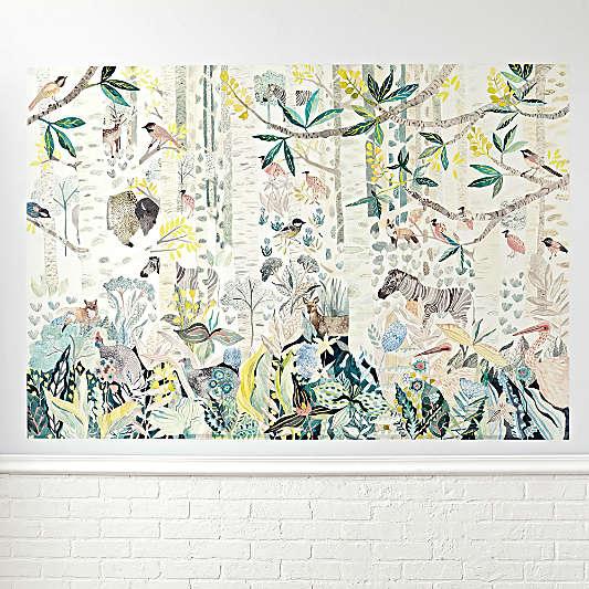 Birch Forest Mural Decal