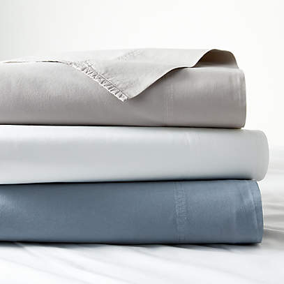 Organic Cotton Sheet Sets Crate And, Organic Linen Bedding Canada