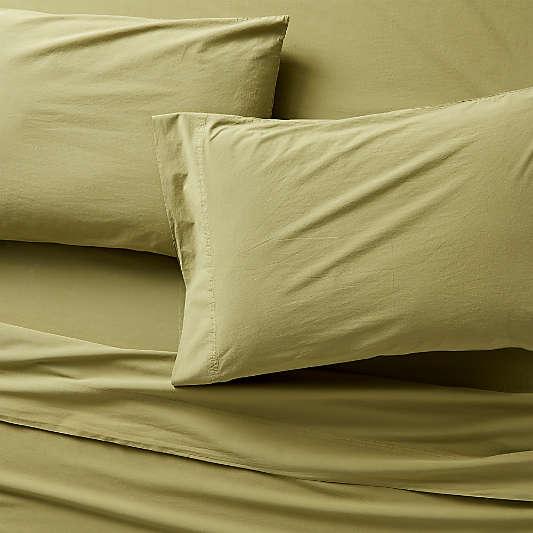 Organic Cotton Fern Sheet Sets