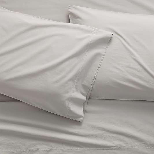 Organic Cotton Grey Sheet Sets